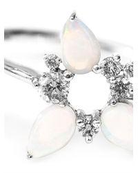 Fernando Jorge - Metallic White-Diamond & Gold Electric Spark Ring - Lyst