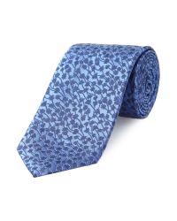 Simon Carter | Blue Lavender Tie for Men | Lyst