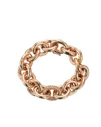 Eddie Borgo - Metallic Pave Link Chain Bracelet - Lyst