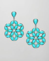 Elizabeth Showers - Blue Kaleidoscope Earrings - Lyst