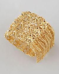 Kendra Scott | Metallic Ivy Fringe Bracelet Gold | Lyst