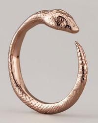 Pamela Love - Pink Serpent Ring - Lyst
