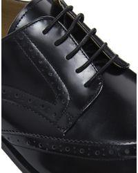 Lipsy - Black Peter Werth Battishill Leather Brogues - Lyst