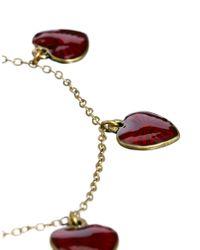 Cath Kidston - Metallic Enamelled Starburst Heart Bracelet - Lyst