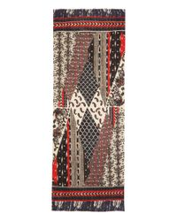 Me and Kashmiere | Black and Red Adorn Cashmere Scarf for Men | Lyst