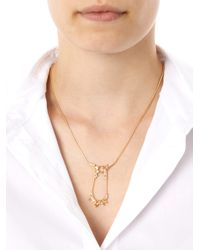 Fernando Jorge - Metallic Diamond Topaz Gold Electric Necklace - Lyst