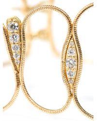 Fernando Jorge - Metallic Diamond & Yellow Gold Fluid Chain Bracelet - Lyst