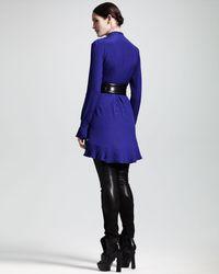Alexander McQueen   Black Skinny Suede-leather Pants   Lyst