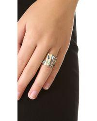 Kelly Wearstler - Metallic Carlton Ring - Lyst