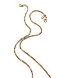 Kenneth Jay Lane - Green Elephant Necklace - Lyst