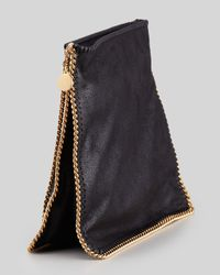Stella McCartney   Falabella Medium Crossbody Bag Black   Lyst