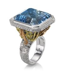 Theo Fennell | Blue Under The Sea Ring | Lyst