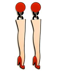 Yazbukey - Multicolor Legs Earrings - Lyst