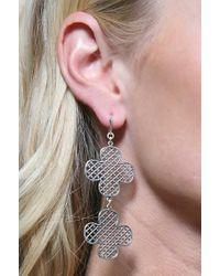 Jessica Elliot | Metallic Double Clover Earrings | Lyst