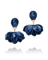 Tory Burch | Blue Pentier Drop Earring | Lyst
