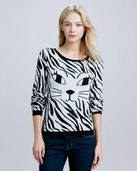 Alice + Olivia - Multicolor Alice Olivia Reyn Sequinedcat Sweater - Lyst