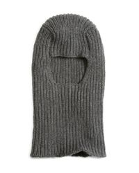 Brooks Brothers | Gray Cashmere Ski Mask for Men | Lyst