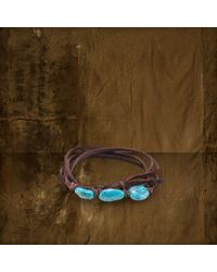 Denim & Supply Ralph Lauren | Blue Turquoise Beaded Bracelet | Lyst