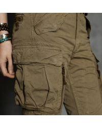 RRL   Green Skinny Cargo Pant   Lyst