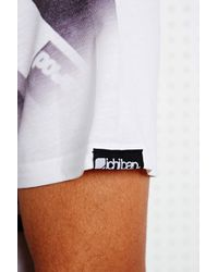 Urban Outfitters - White Ichiban Hip Hop Sublimation Print Tee for Men - Lyst