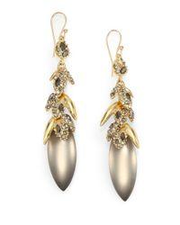 Alexis Bittar - Metallic Jeweled Vine Drop Earrings - Lyst