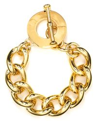 Carolee | Metallic Optical Illusions Chain Bracelet | Lyst