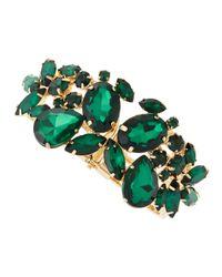 Fragments | Emerald Green Stone Bracelet | Lyst