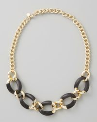 Alexis Bittar | Metallic Neo Boho Lucite Necklace | Lyst