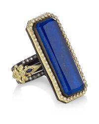 Armenta | Blue Lapis Lazuli and Diamond Ring | Lyst