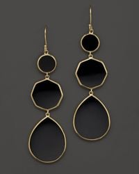 Ippolita | Multicolor 18k Gold Polished Rock Candy Crazy 8's Earrings In Black Onyx | Lyst