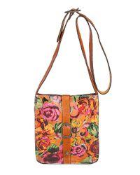 Patricia Nash | Multicolor Sumrose Venezia Leather Satchel | Lyst
