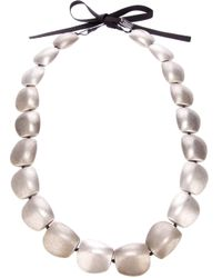 Antonella Filippini | Black Beaded Necklace | Lyst
