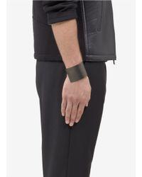 Lanvin - Black Metal Bracelet Cuff - Lyst