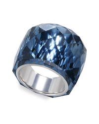 Swarovski | Blue Nirvana Montana Crystal Ring | Lyst