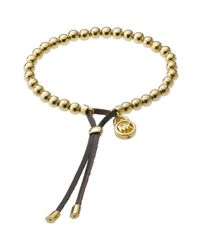 Michael Kors | Black Bead Stretch Bracelet | Lyst