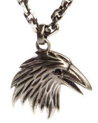 Simon Carter - Metallic Eagle Necklace for Men - Lyst
