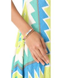 Venessa Arizaga - Multicolor Pizza Party Bracelet - Lyst
