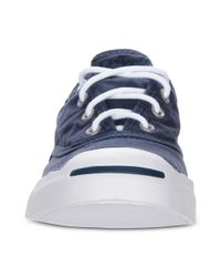 Converse Blue Jack Purcell Cvo Lp Sneakers for men