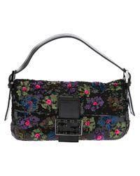 e8d3fdc9e126 Lyst - Fendi Baguette Floral Bag