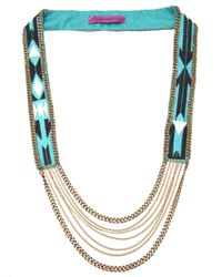 Fiona Paxton | Metallic Beaded Necklace | Lyst