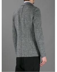 Harris Wharf London - Gray Three Button Blazer for Men - Lyst