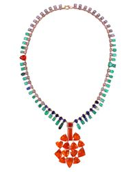 Irene Neuwirth | Multicolor Fire Opal Necklace | Lyst