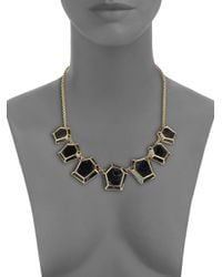Marc By Marc Jacobs - Metallic Swinging Gems Necklace - Lyst
