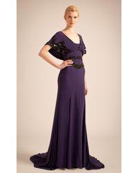 Temperley London - Purple Long Jean Dress - Lyst