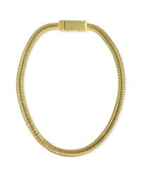 Vince Camuto - Metallic Gold-tone Snake Chain Collar Necklace - Lyst