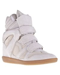 Isabel Marant   White High-tops & Trainers   Lyst