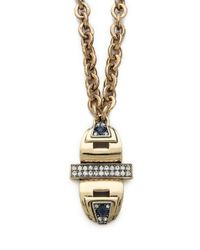 Lulu Frost | Metallic Solar Pendant Necklace | Lyst