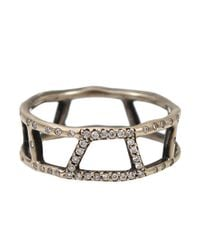 Monique Péan | Metallic Gold Open Trapezoid Ring | Lyst