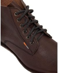 Alexander McQueen X Puma - Brown Frank Wright Mortimer Boots for Men - Lyst