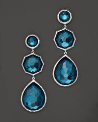 Ippolita | Metallic Sterling Silver Wonderland Crazy 8'S Earrings In Peacock | Lyst